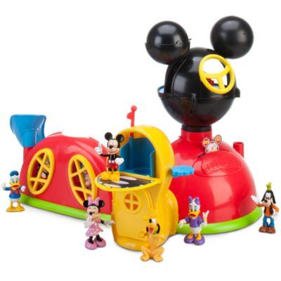 Mickeys klubhus legesæt og figurer