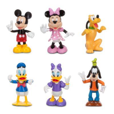 Ensemble de jeu avec figurines La Maison de Mickey