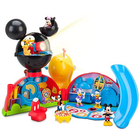 Set da gioco con personaggi La casa di Topolino
