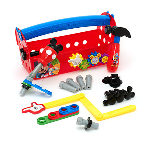 Set juego caja herramientas Mickey Mouse