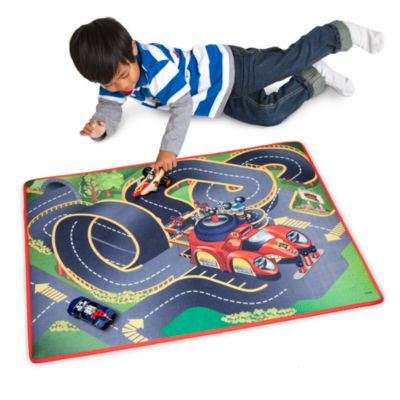 Disney Mickey Mouse Roadster Racers Playmat And Vehicles