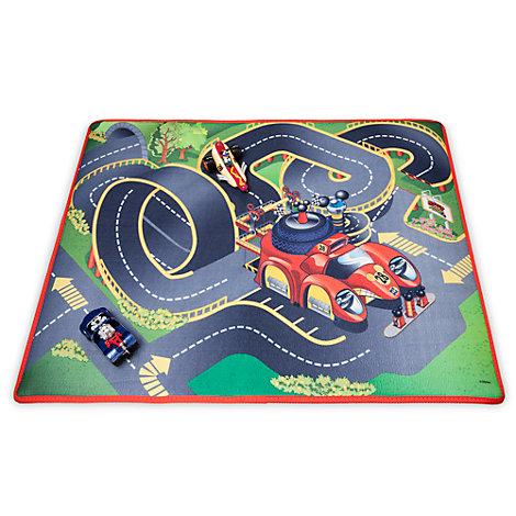 Alfombra de juego y vehículos Mickey Mouse Roadster Racers