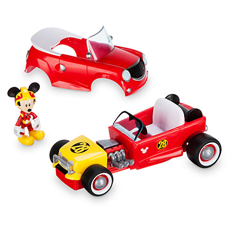 Micky Maus – Verwandlungsraser mit Rückzugfeder