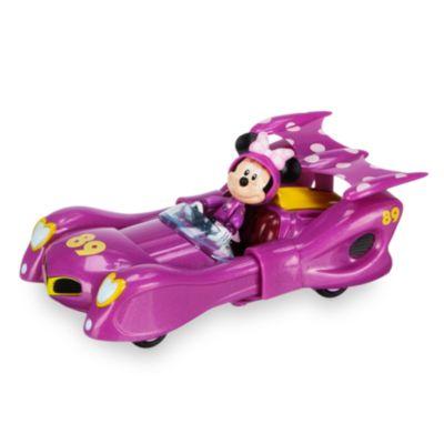 Minnie pilote de course et sa voiture convertible - Voiture minnie ...