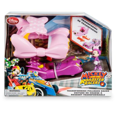 Minnie Mouse Transforming Pullback Racer