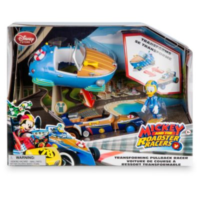 Donald Duck Transforming Pullback Racer