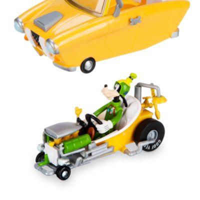 Omvandlingsbar Långben-racerbil med uppdragningsmekanism