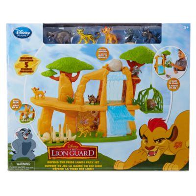 Løvernes garde forsvarer Kongesletten, sæt med eksklusive figurer