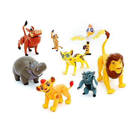 The Lion Guard Figurines, Set of 8