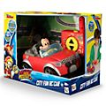 Coche carreras control remoto Mickey City Fun