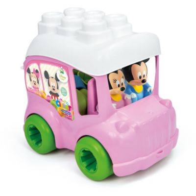 Minnie Mouse Bus with Blocks, Baby Clementoni
