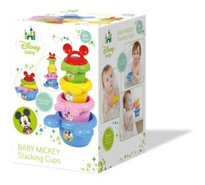 Baby Clementoni - Micky Maus - stapelbare Becher