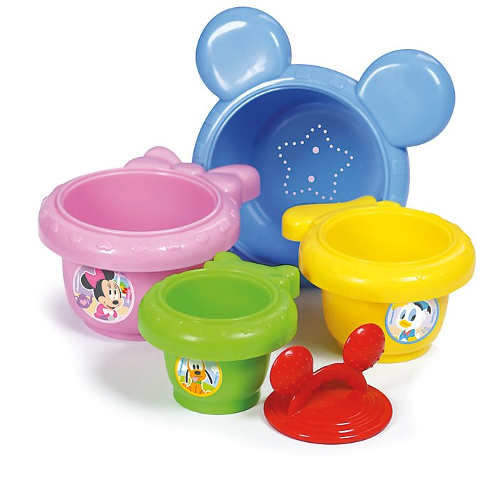 Tazas apilables de Mickey Mouse, Baby Clementoni