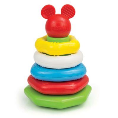 Anillos apilables de Mickey Mouse, Baby Clementoni