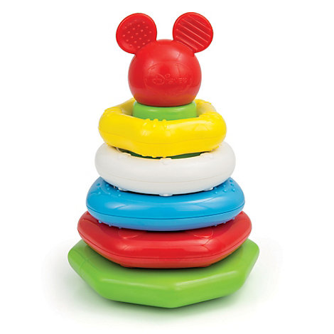Mickey Mouse Stacking Rings, Baby Clementoni