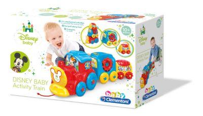 Train d'activité Mickey Mouse, Baby Clementoni
