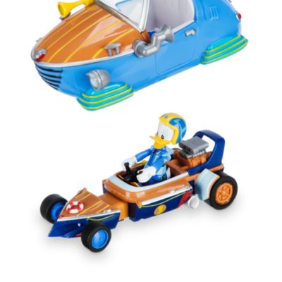 Coche carreras transformable Pato Donald