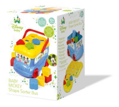 Baby Clementoni - Micky Maus - Sortierbus mit Formen