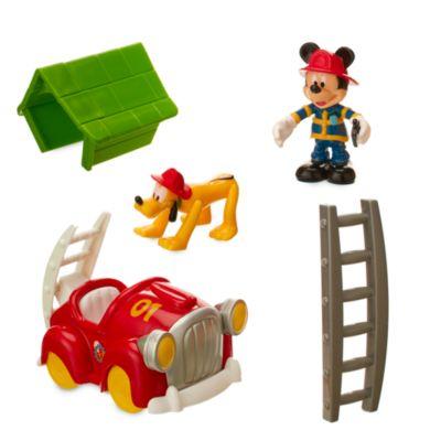 Mickeys Mouse brandstation legesæt