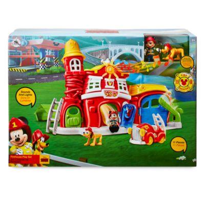 Set da gioco Caserma dei pompieri Topolino