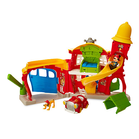 Mickey Mouse Firehouse Play Set
