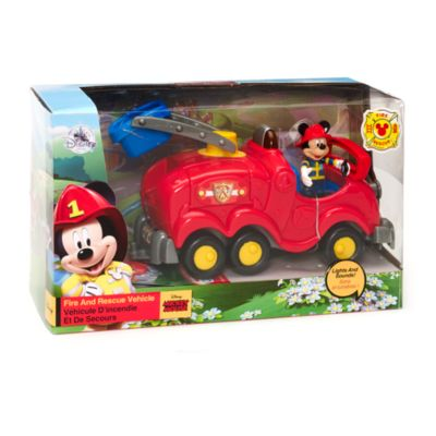 Mickey Mouse Fire and Rescue Vehicle