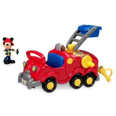 Mickey Mouse og redningsbrandbil