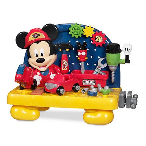 Mickeys Mouse arbejdsbænk-legesæt