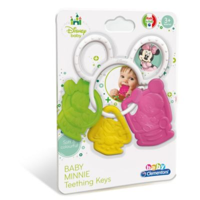 Minnie Mouse Baby Teething Keys, Baby Clementoni