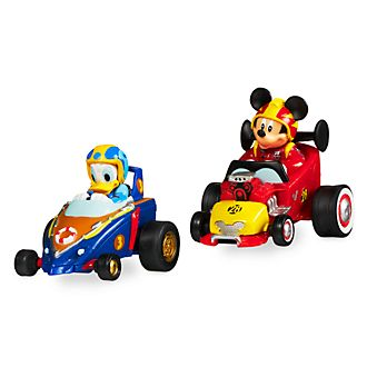 Disney Store Mickey and Donald Mini Pullback Racers