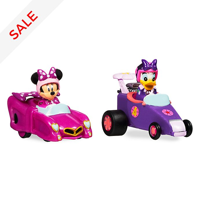 Disney Store Minnie and Daisy Mini Pullback Racers