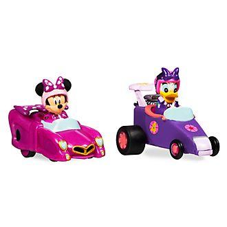 Coches de carreras miniatura con movimiento por retroceso, Minnie y Daisy, Disney Store
