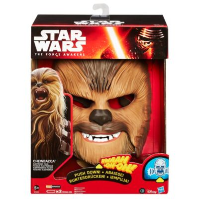 Masque électronique Chewbacca, Le Réveil de la Force, Star Wars