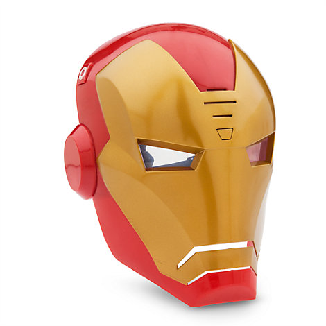 Iron Man Feature Mask With Sound, Marvel Avengers