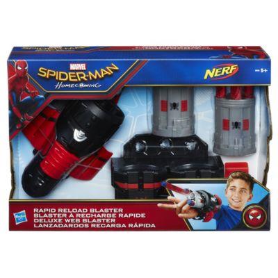 Disparador de dardos de carga rápida de Spider-Man