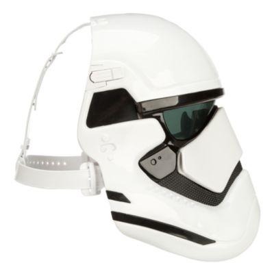Máscara modificadora de voz soldado asalto Primera Orden, Star Wars