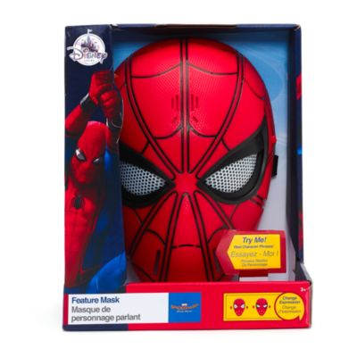 Máscara con voz de Spider-Man