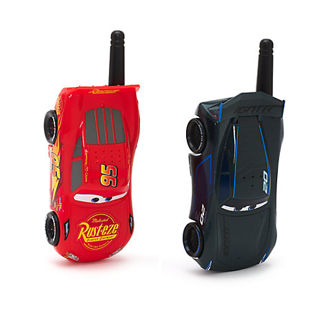 Paire de talkies-walkies Disney Pixar Cars3