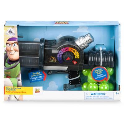 Pistolet phosphorescent Zurg, Toy Story