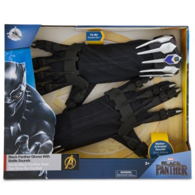 Black Panther Gloves With Battle Sounds