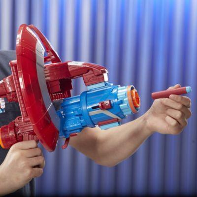 Juego montaje armas Nerf, Capitán América