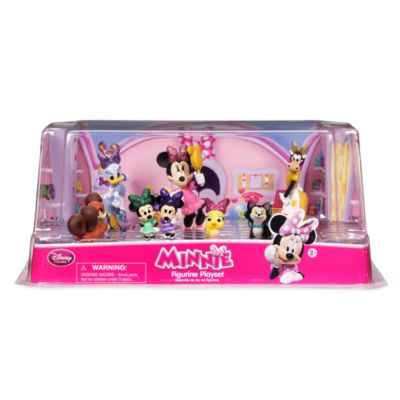 Minnie Mouse Bowtoons Figurine Set