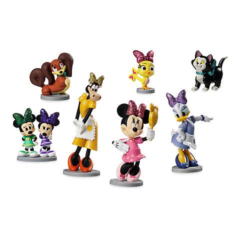 Minnie Mouse Bowtoons figursæt