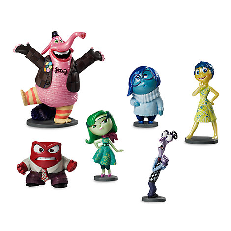 Inside Out Figurine Playset