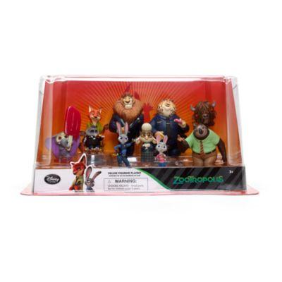 Set de figuritas lujo Zootrópolis