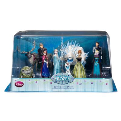 Set de figuritas lujo Frozen