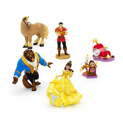 Set figuras La Bella y la Bestia