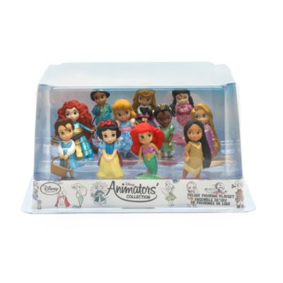 Disney Animator's Collection Deluxe Figurines, Set of 11