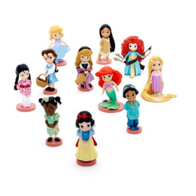 Ensemble de figurines de luxe de la collection Disney Animators