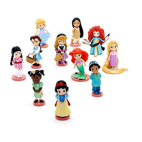 Ensemble de figurines de luxe de la collection Disney Animators